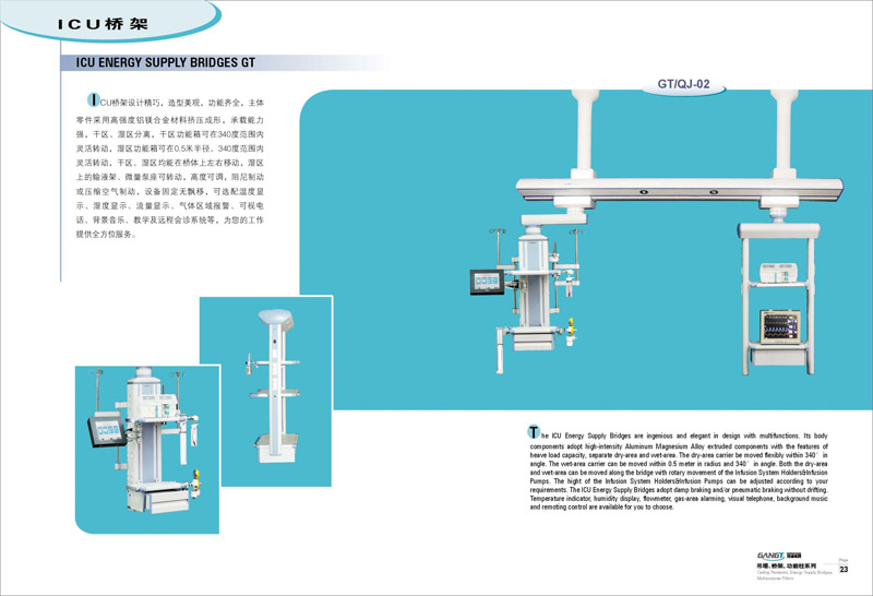 吊塔、桥架、功能柱系列