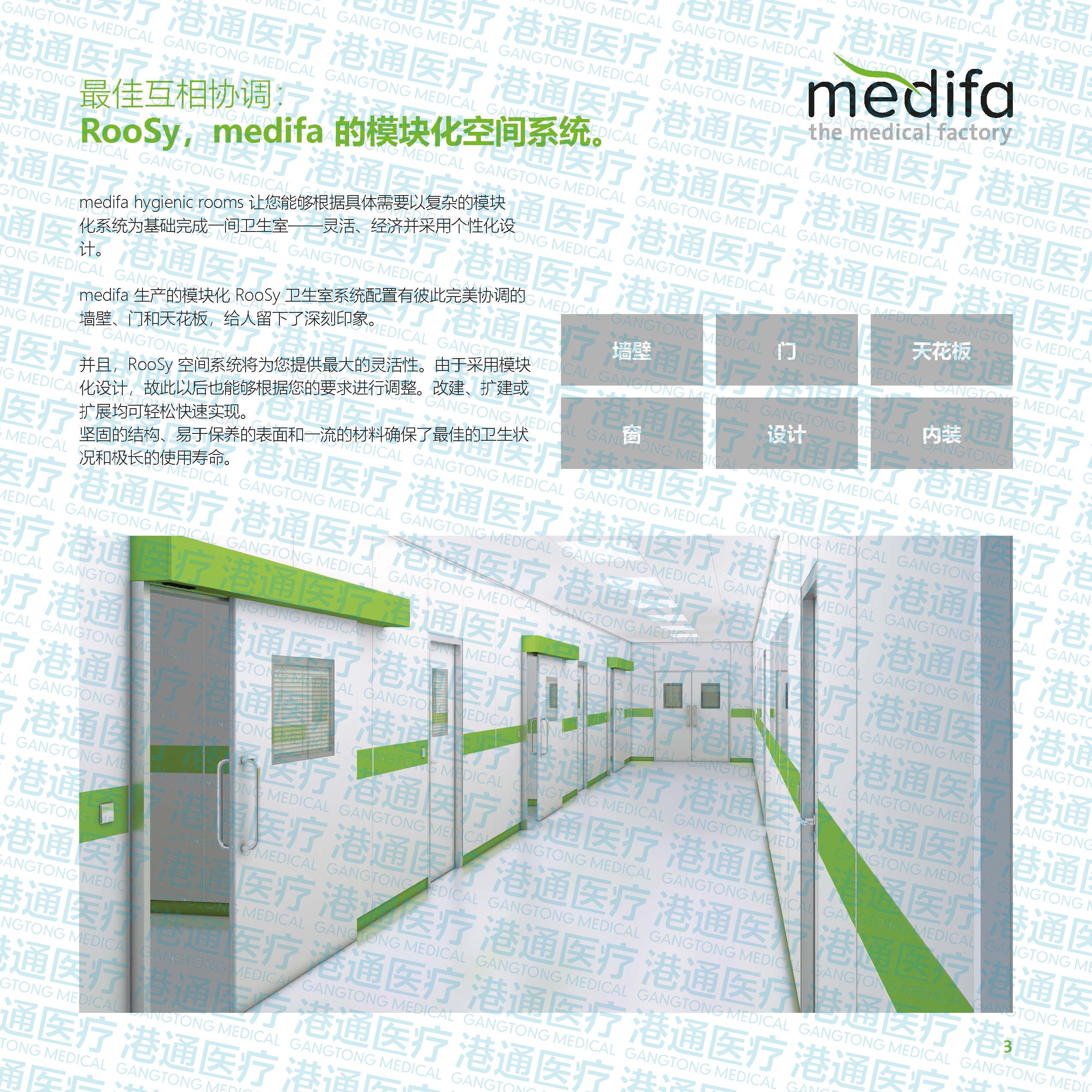 模块化墙壁、门和天花板系统